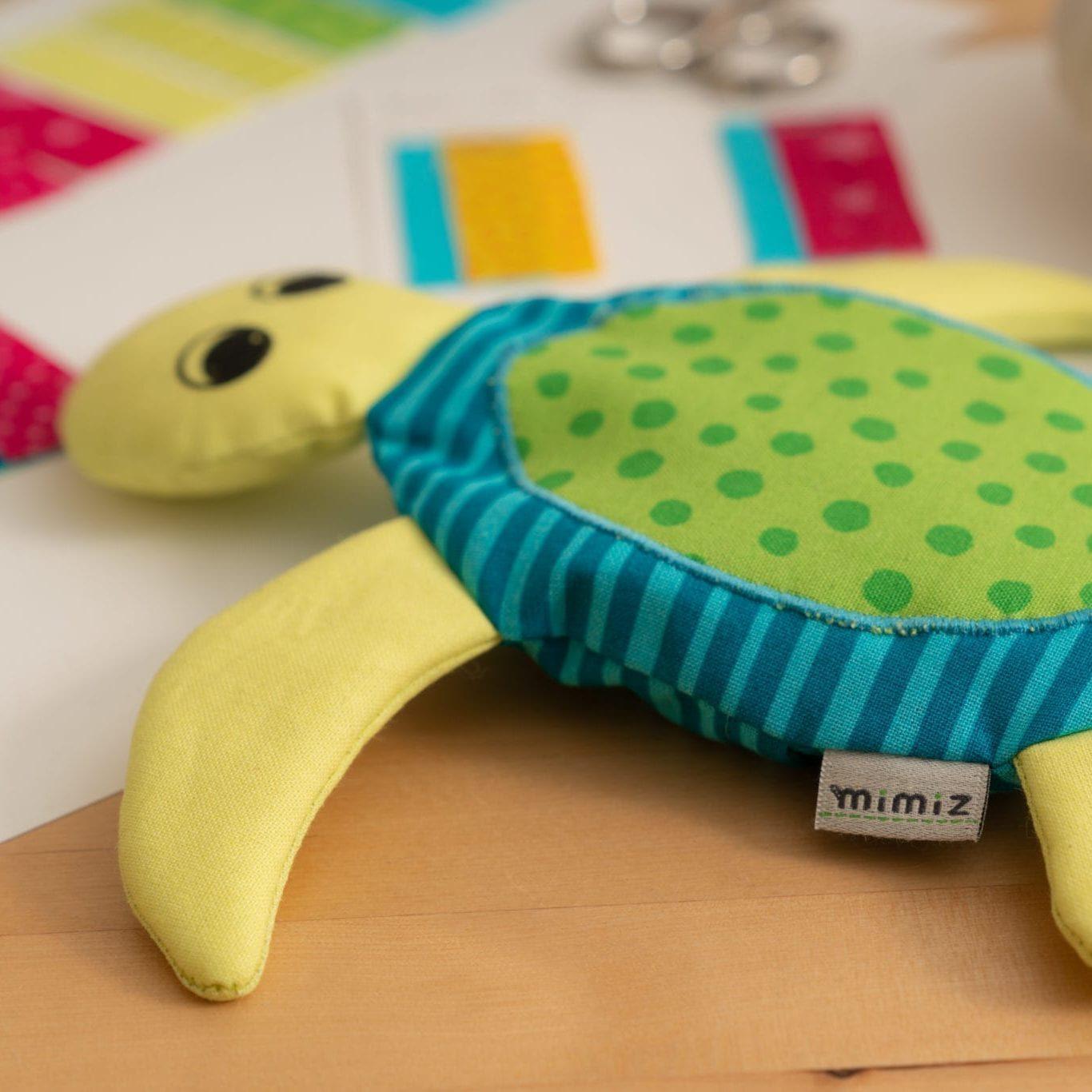 Schildkröte_Sam_Detail_Etikett